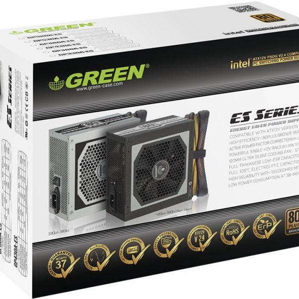 منبع تغذیه کامپیوتر گرین مدل GP580A-ES